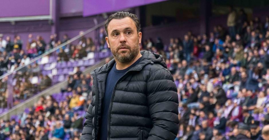 Sergio González, antes del partido del sábado ante el Club Deportivo Leganés | <em><strong>Foto: RealValladolid.es</strong></em>